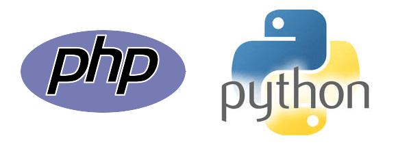 phpとpythonのロゴイメージ