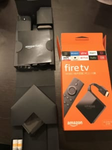 【Amazon Fire TV】中身そのまま