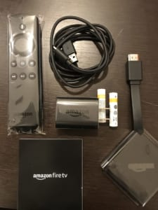 【Amazon Fire TV】中身だけ