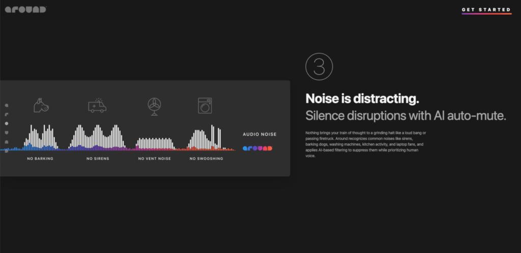 Aroundの特許出願中の音声技術を駆使した通話品質